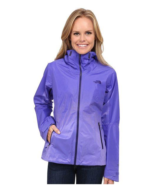 The North Face - Purple Fuseform™ Dot Matrix Jacket - Lyst