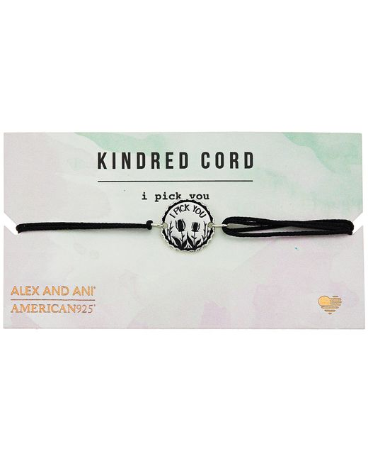 ALEX AND ANI - Metallic Cosmic Love Kindred Cord Bracelet - Lyst