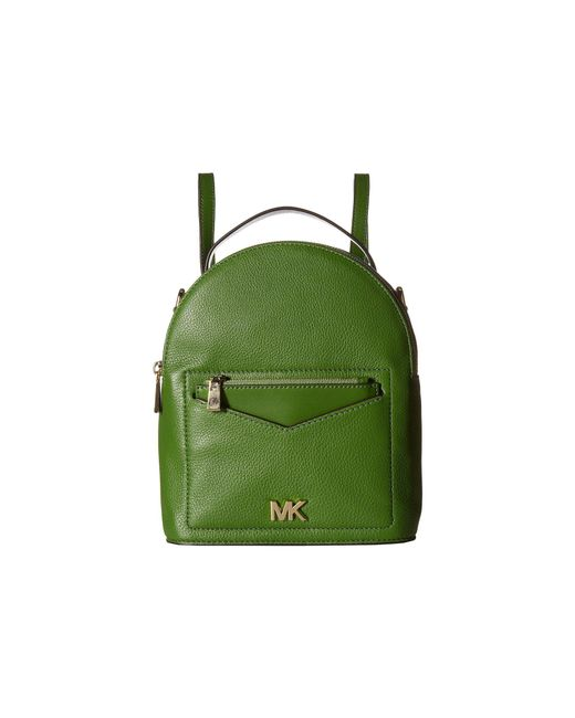 MICHAEL Michael Kors - Green Jessa Small Convertible Backpack - Lyst