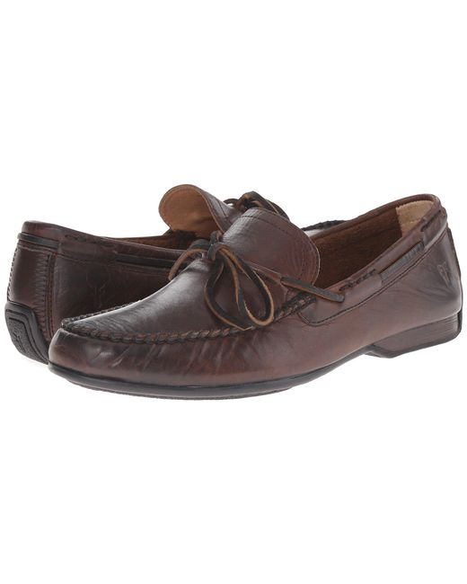 Frye - Brown Lewis Tie for Men - Lyst