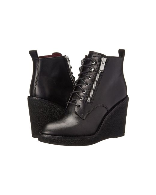 Marc By Marc Jacobs - Black Kit Wedge Boot - Lyst