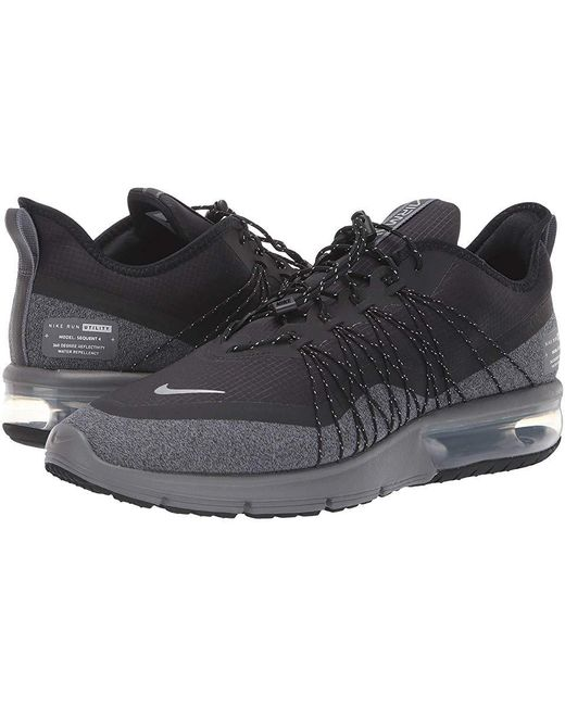 64273785b3 Nike - Air Max Sequent 4 Shield (black/metallic Silver/dark Grey) ...