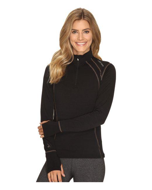 Hot Chillys | Black Wool 8k Zip | Lyst