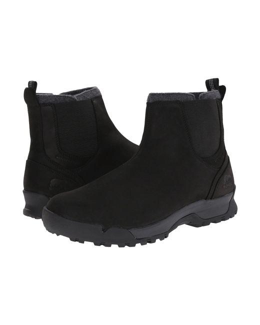 Sorel - Black Paxson Chukka Waterproof for Men - Lyst