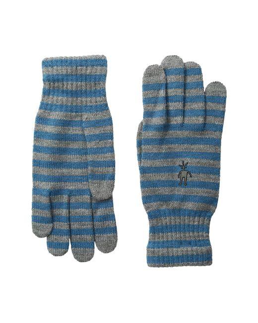 Smartwool | Blue Striped Liner Glove | Lyst