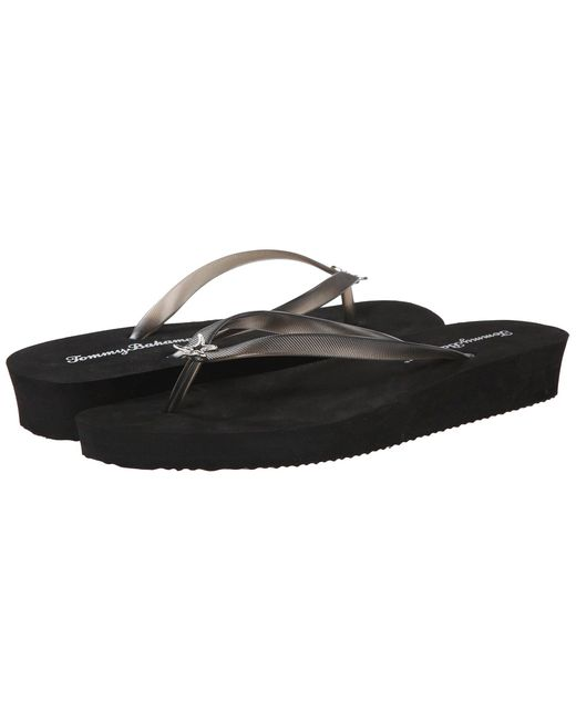 Tommy Bahama | Black Whykiki Wedge Solid | Lyst