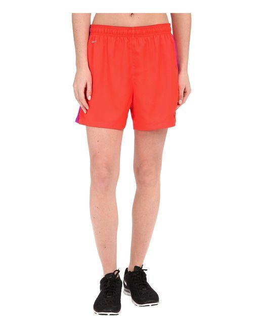 Nike   Red Dri-fittm Squad Woven Short   Lyst
