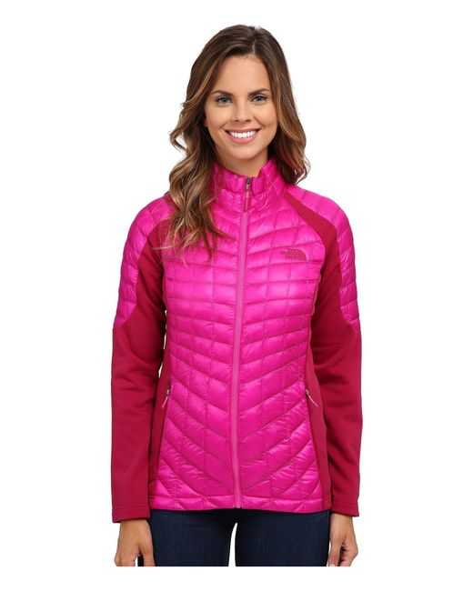 The North Face | Pink Momentum Thermoballtm Hybrid Jacket | Lyst