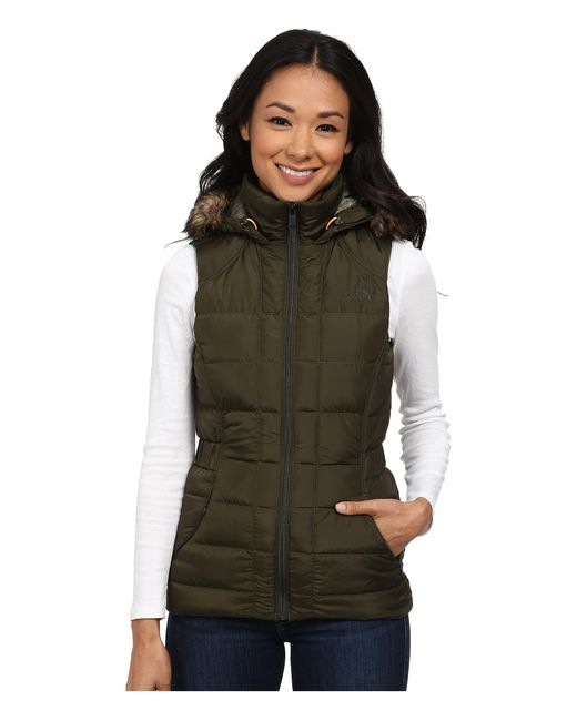The North Face   Green Gotham Vest   Lyst