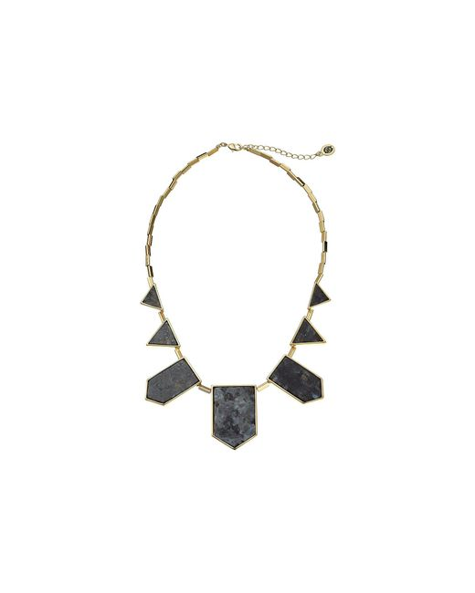 House of Harlow 1960 - Black Classic Station Necklace - Lyst