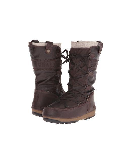 Tecnica | Brown Moon Boot® W.e. Monaco Mix | Lyst