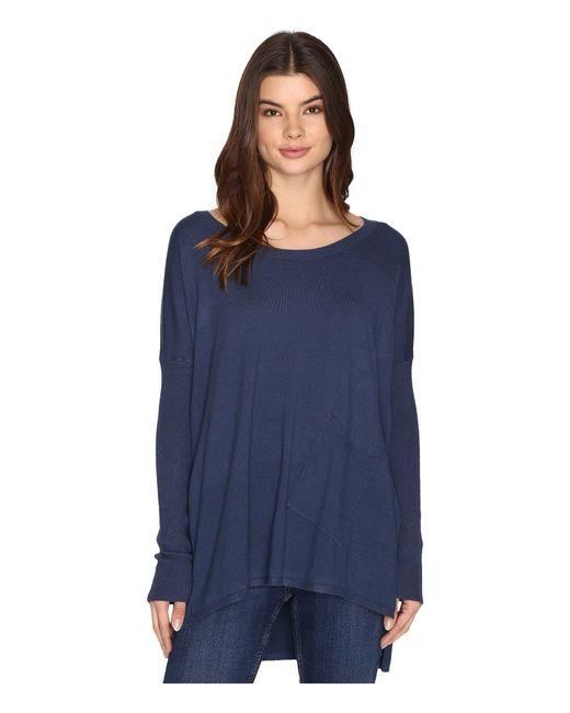 Culture Phit | Blue Cheyenne One-pocket Sweater | Lyst