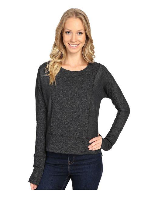 Mountain Hardwear | Black Shadow Knit Crew Long Sleeve Shirt | Lyst