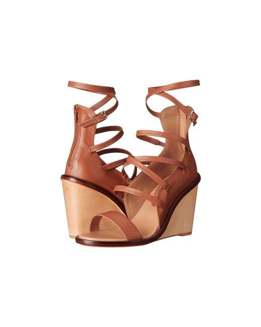 Womens Shoes ALDO Russella Cognac