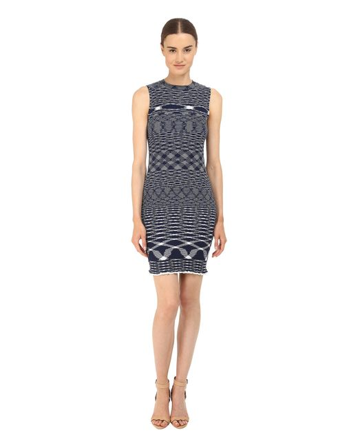 See By Chloé | Blue Light Space Dyed Knit Dress | Lyst