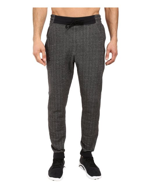 Under Armour | Gray Rival Cotton Novelty Jogger for Men | Lyst