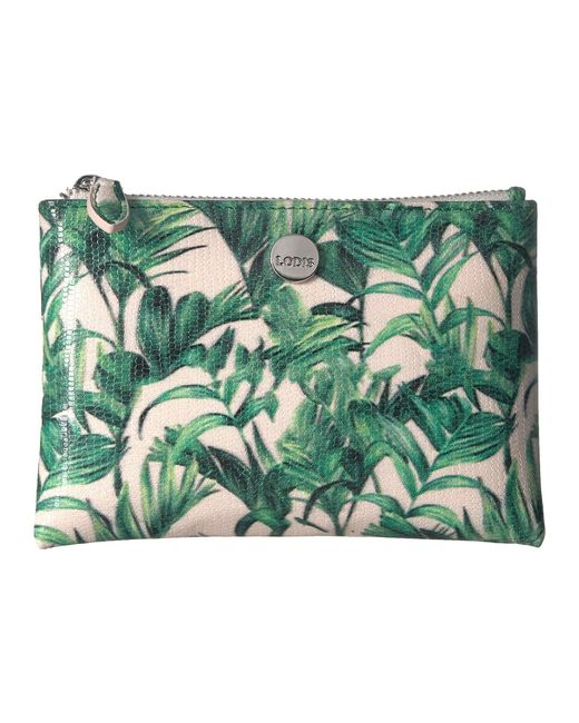 Lodis - Green Palm Cleo Small Pouch - Lyst