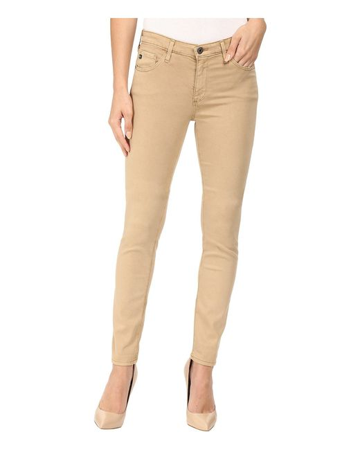 AG Jeans - Natural Prima In Sulfur Toasted Umber - Lyst
