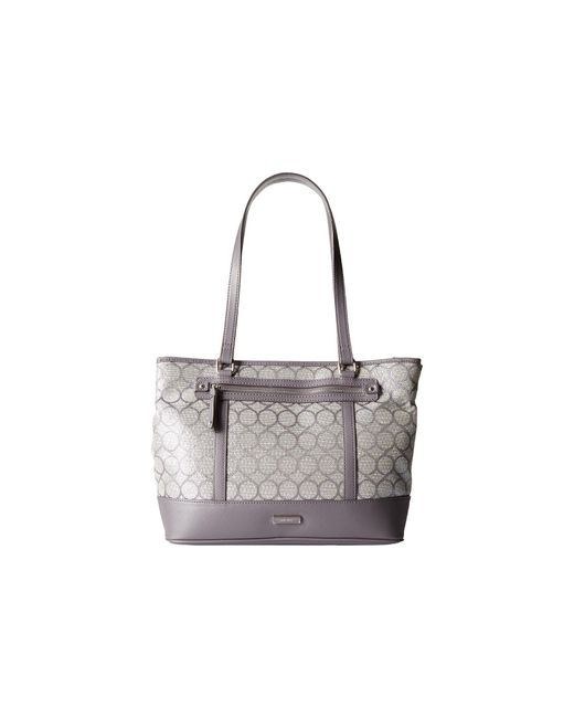 Nine West | Gray 9s Jacquard Tote | Lyst