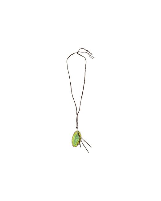 Chan Luu | 36' Green Agate Charm Necklace | Lyst