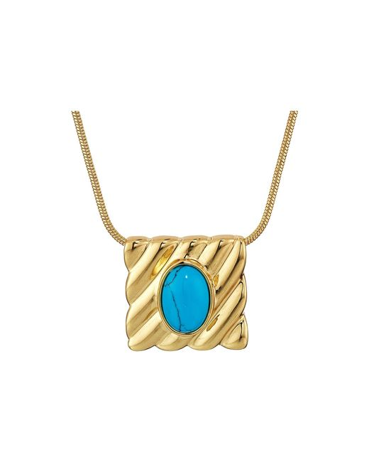 House of Harlow 1960 | Multicolor Ribbed Valda Pendant Necklace | Lyst