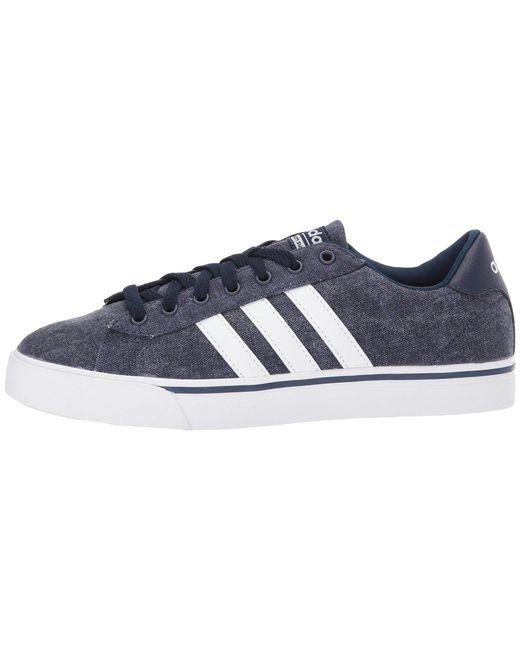 adidas cloudfoam super daily shoes men's blue