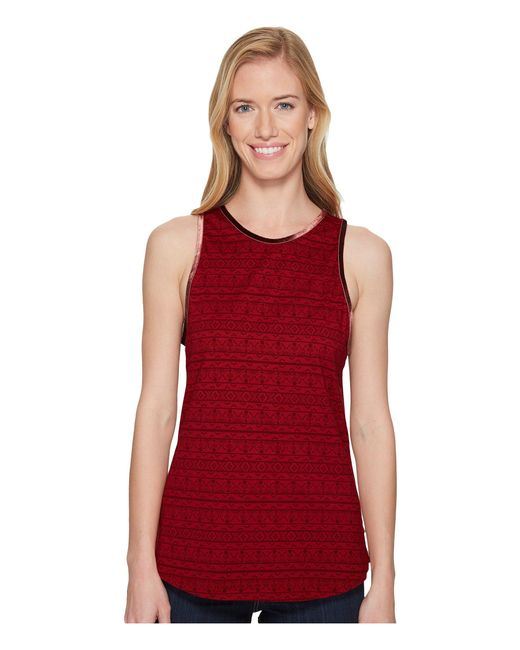 Toad&Co - Red Bedhead Tank Top - Lyst