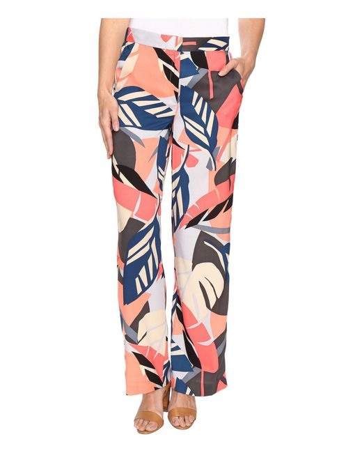 Vince Camuto - Multicolor Modern Tropics Wide Leg Pants - Lyst