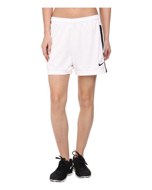 Nike - White Dri-fittm Academy Knit Shorts - Lyst