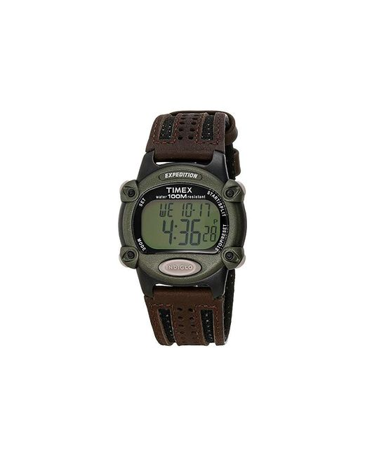cf03570fc Timex - Expedition Chrono Alarm Timer Full (brown) Chronograph Watches for  Men - Lyst
