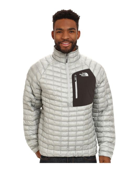 The North Face - Gray Thermoball™ Pullover for Men - Lyst