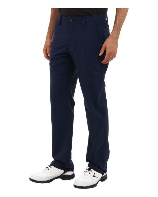 b766fcb1b8ae Lyst - Under Armour Ua Match Play Pant in Blue for Men - Save 34%