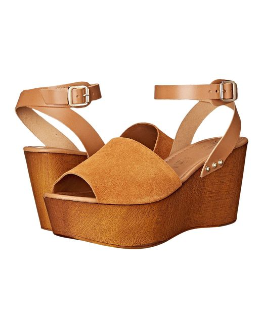 Seychelles - Brown Laugh More Wedge - Lyst