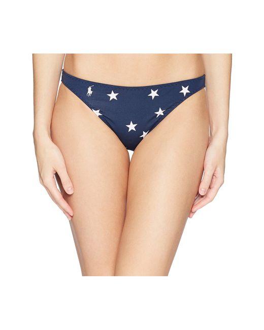 Polo Ralph Lauren - Blue Star Taylor Hipster Bottoms - Lyst