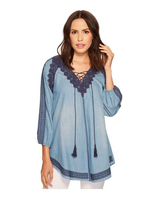 Tasha Polizzi - Blue Fantasma Shirt - Lyst