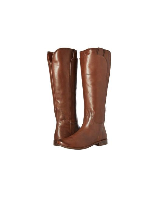 Frye - Brown Paige Tall Riding - Lyst