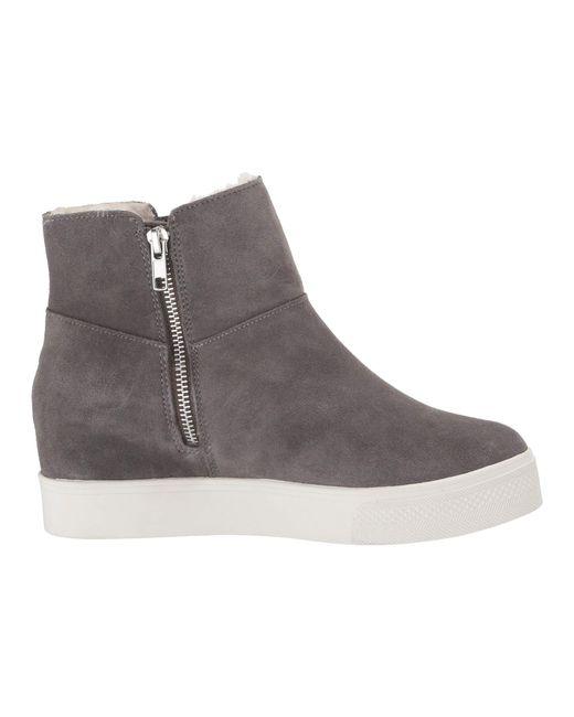 5fe974335f3 Lyst - Steve Madden Wanda Wedge Sneaker in Gray - Save 13%