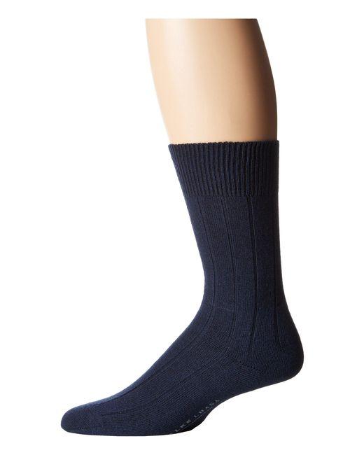 Falke - Blue Lhasa Rib Sock for Men - Lyst