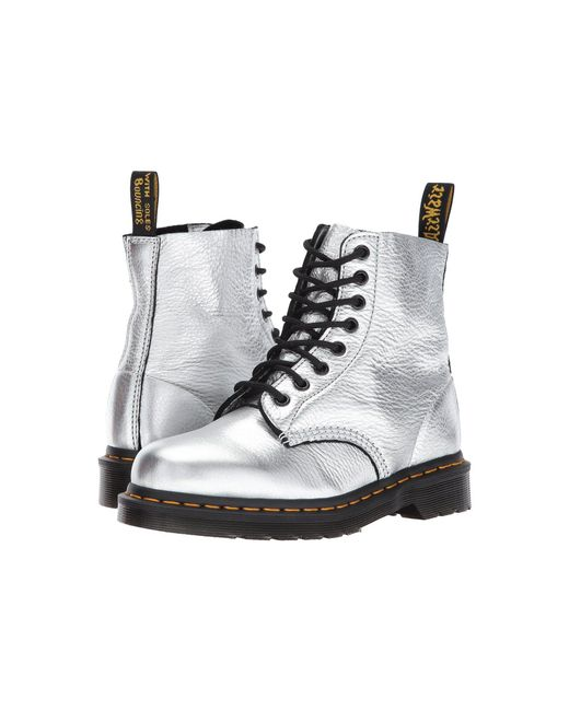 Dr. Martens - Pascal Metallic 8-eye Boot - Lyst