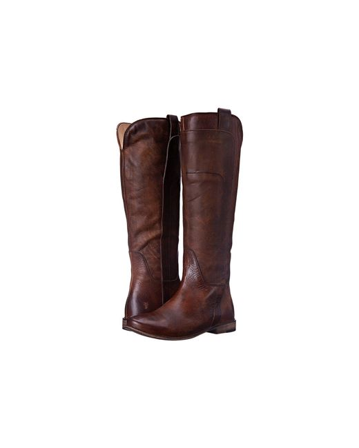 Frye - Brown Paige Tall-apu Riding Boot - Lyst