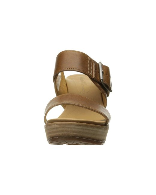 76a1d4535289 ... Timberland - Brown Brenton Buckle Slide - Lyst
