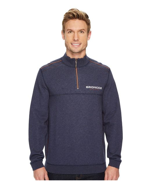Tommy Bahama - Blue Reversible Nfl Flip Drive 1/2 Zip Pullover for Men - Lyst