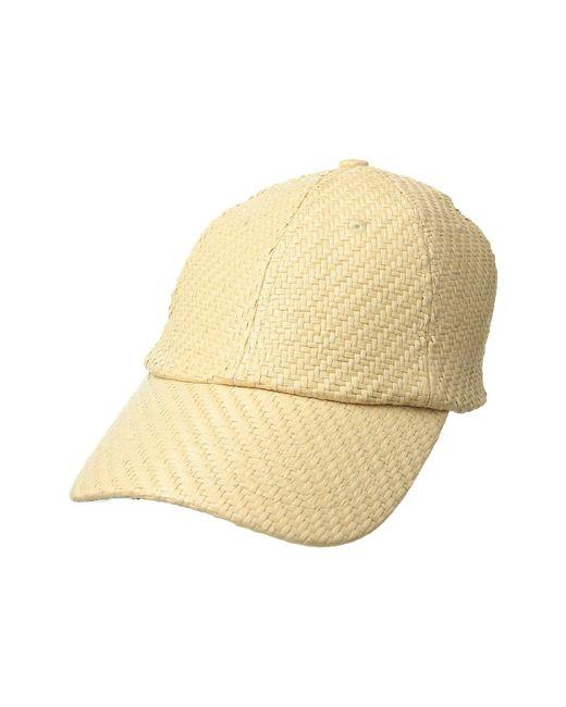 Vera Bradley - Multicolor Straw Baseball Hat - Lyst