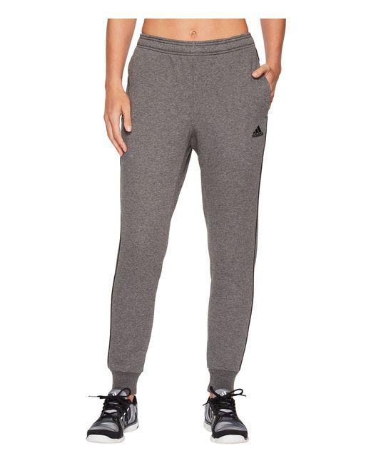 Adidas - Gray Core18 Sweatpants - Lyst