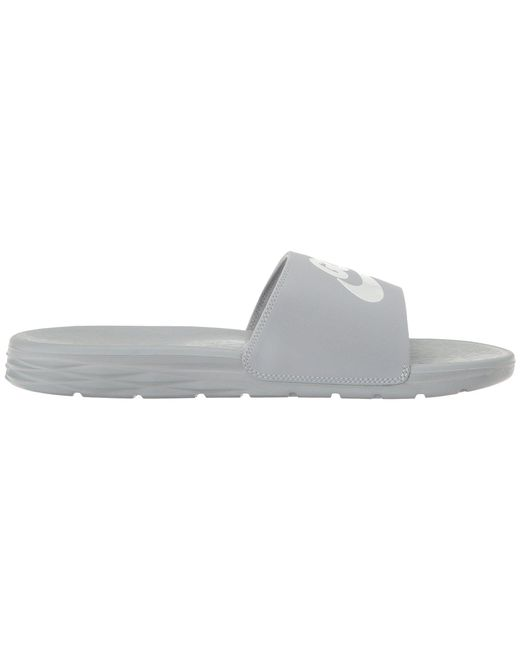 f2e0a5206054 ... Nike - Gray Benassi Solarsoft Ng for Men - Lyst ...