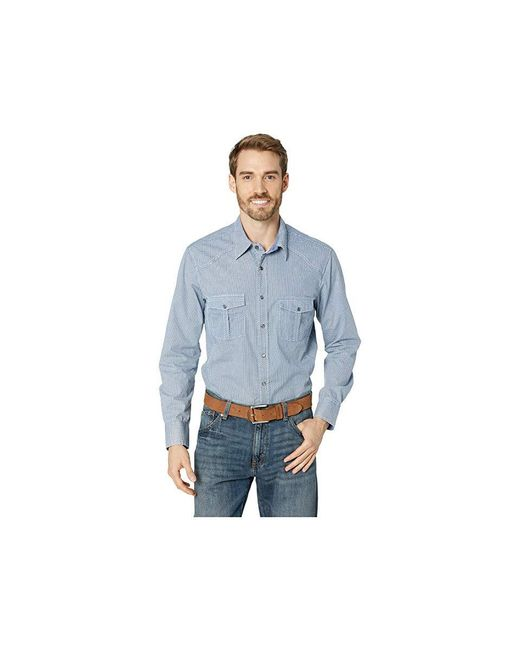 d0aba7fd Rock And Roll Cowboy - Long Sleeve Snap B2s7009 (blue) Clothing for Men ...