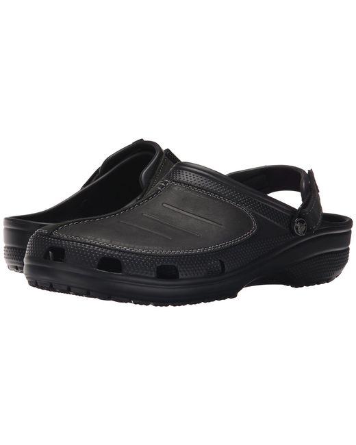 f47752e933348a Crocs™ - Black Yukon Mesa Clog for Men - Lyst ...