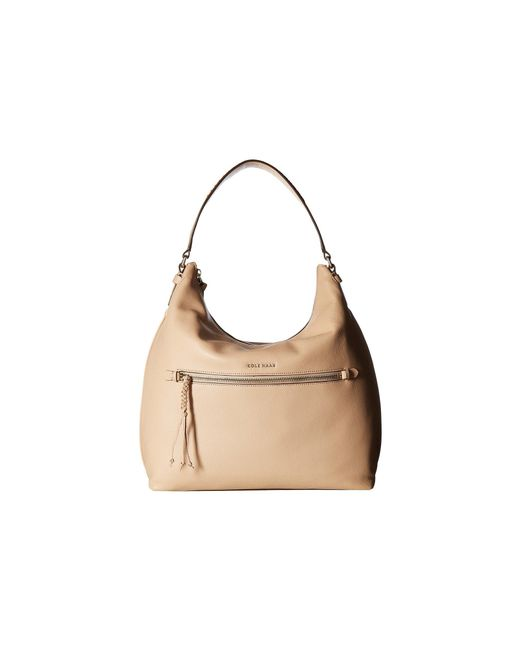 Cole Haan | Natural Delilah Hobo | Lyst