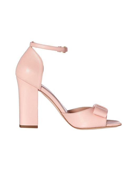 Ankle Strap Heel with Bow Boutique Moschino tV9PKxuF