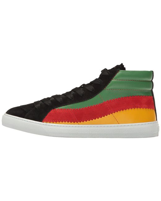 ... Paul Smith - Black Lynn Reggae High Top for Men - Lyst ...